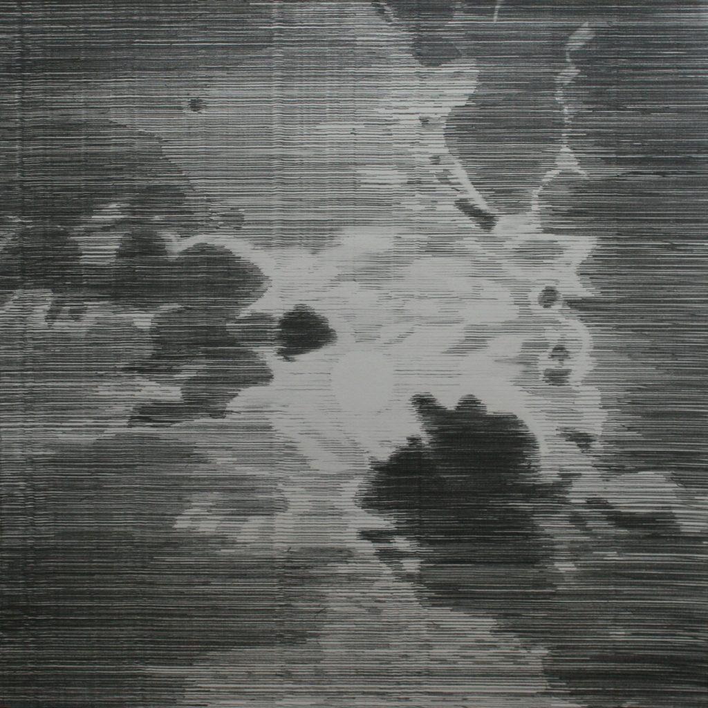Full Moon 2014 Graphite on Stockwell paper